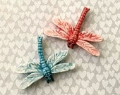 RESERVED HA Two Great Dragonflies - Mosaic Supply - Ceramic Tiles