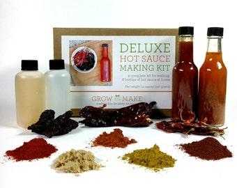 DIY Deluxe Hot Sauce Kit