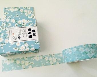 Spring Sakura Flower Boxed Washi Tape