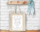 Roald Dahl Sunbeams Quote tote bag