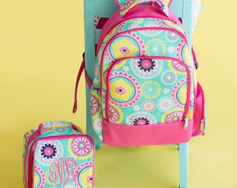 Pre-Order Monogrammed Piper Backpack or Lunch box