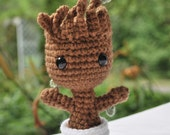 Crochet Little Baby Groot