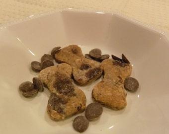 Peanut Butter Carob Chip Dog Treats Cookies