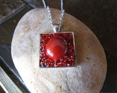 Red Pendant Necklace DLJ0...