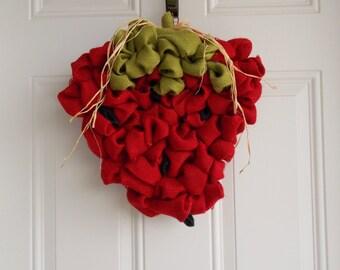 Strawberry wreath/summer wreath