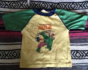 Vintage The Incredible Hulk T-Shirt (1979)