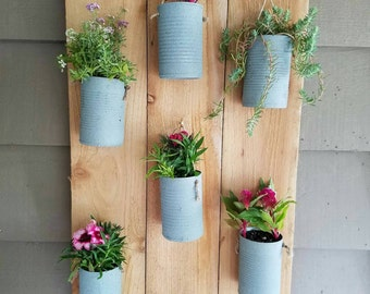 Hanger reclaimed flower/herb gardens
