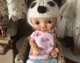 Cashmere Panda hat
