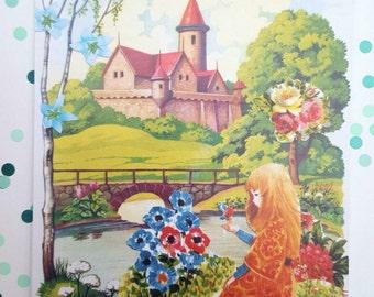 I Wish i was a Princess Postcard