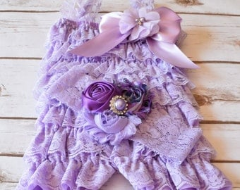 Lavender Romper, Cake Smash Outfit Girl, Baby Girl 1st Birthday Outfit, Cake Smash Outfit, 2nd Birthday Outfit Girl, 1st Birthday Cake Smash