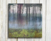 Dreamy forest art print on canvas - Landscape art - art printed on canvas - wedding gift