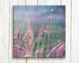 Misty Nature scene on canvas - Gallery wrap canvas art print - Framed art print - Wedding gift