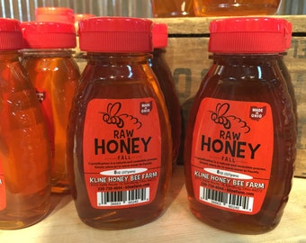 Raw Fall Honey  - 8 oz. Pure Honey Ohio Proud