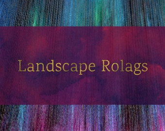 How To Blend Landscape Rolags - Blending Board Tutorial - Textured Art Rolag or Smooth Traditional Rolags Spinning Fiber Tutorial