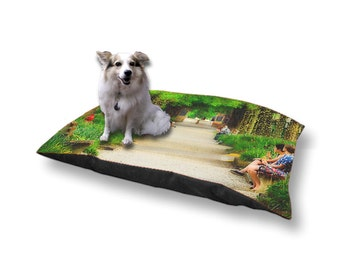 Pet Bed Dog Bed Kenyon College Gambier Ohio Middle Path 18x28 30x40
