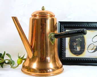 Coppercraft Guild Copper Coffeepot French Handle