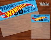 Race Car Birthday Bag Toppers, DIY Wheelie Special Favor Labels, Printable Car Birthday Labels, INSTANT DOWNLOAD digital file