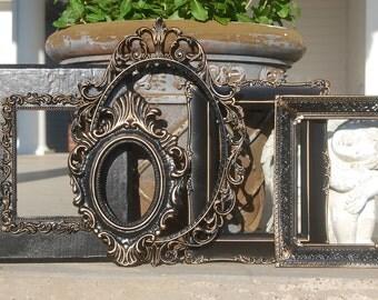 Ornate Vintage Frames / Antique PICTURE FRAMES / Shabby Chic Frame Set