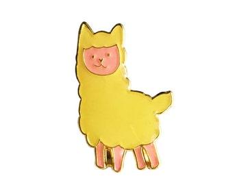 ANIMAL | Cute Llama Enamel Pin