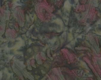 Fabri-Quilt Indonesian Batik Fabric, Forest