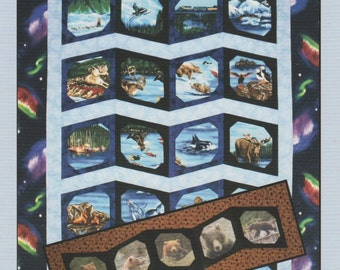 Alaska Photo Album Quilt Pattern by Quilts With A Twist,  DIY Quilting