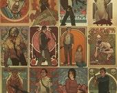 Mort Nouveau - set of postcards
