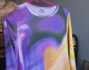 W&LT Walter van Beirendonk cosmic dress size small - medium ~rare!!!~