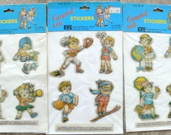 Campbells Soup Kids Stickers
