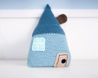 House cushion (blue)