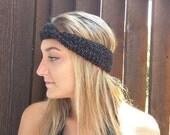 Black Headband . Reflecti...
