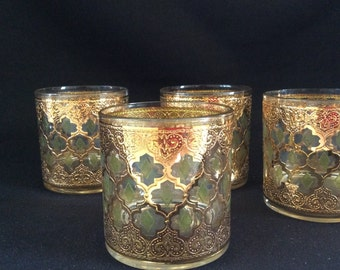 Vintage gold glasses