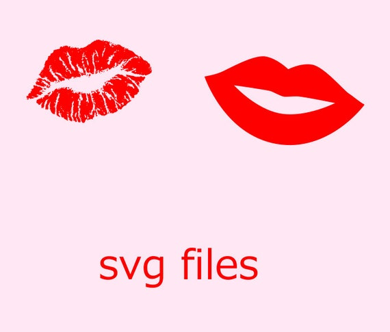 Download Valentine Lips SVG File Instant Download Cutting by ...
