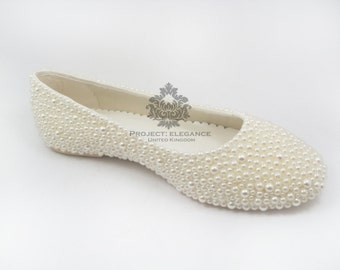 Pearl Flat Shoes