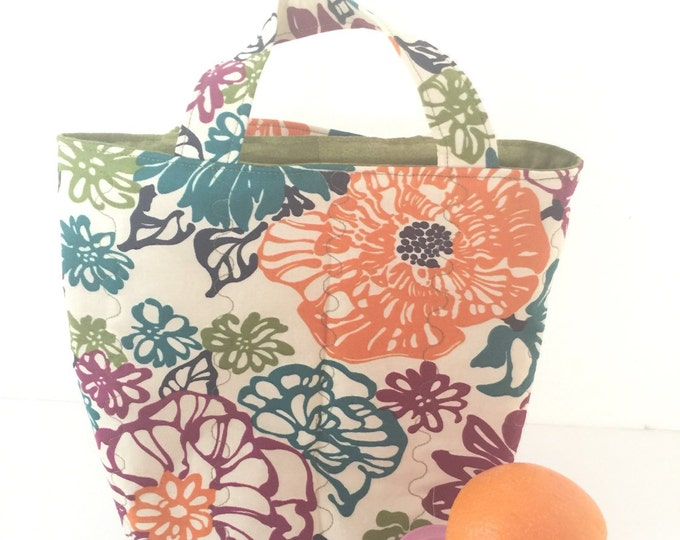 SALE Lunch bag, Insulated Bag, Cold Bag