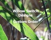 Custom Order for Jason