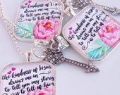 to tell you my story is to tell of Him / big daddy weave lyrics / inspirational pendant necklace