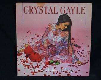 Vintage Record Crystal Gayle: We Must Believe in Magic Album UA-LA771-G