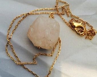 Quartz Chain Necklace
