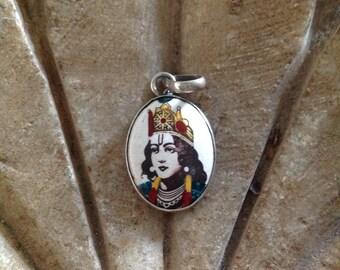 Sterling Silver Deity pendant