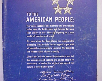 June 4, 1945 LIFE Magazine with WWII American People Address Letter on the Cover has 120 pages of ads and articles