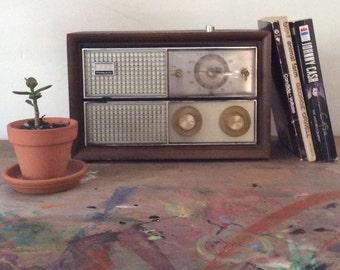 Philco alarm clock radio