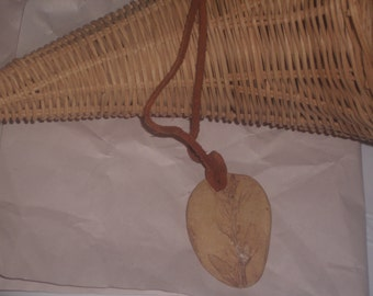 Vintage FOSSIL Pendant