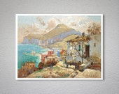 Capri by Konstantin Gorbatov - Poster Paper, Sticker or Canvas Print