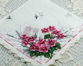 Vintage Hankie for Collectors,  Beautiful, Suited for Wedding,  Sewing, Crafting, Great Gift Idea   F-22