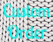 Custom Order For cmgibellini1