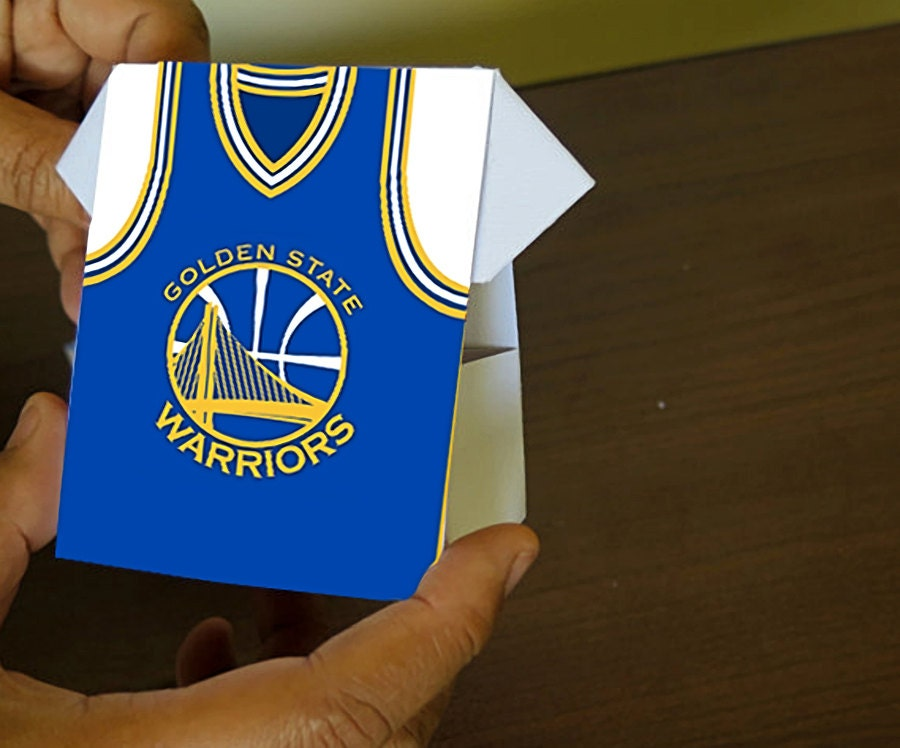 Jersey Shirt Design Golden State Warriors by SweetandClever