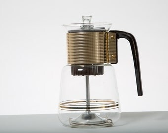 Mid Century Percolator Original Directions  Coffee Pot Mint Condition 1950s Coffee Maker