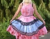 Prairie Dress,Sun Dress,Beach Dress,Gypsy Dress,Hippie Dress,Festival Dress,Maxi Dress,Boho Dress,Summer Dress,Bohemian Dress,Fairy Dress
