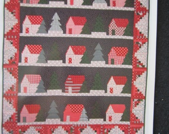 Cabin in the Woods Quilt Pattern