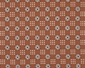 Atomic Dot in Nugget - Katie Jump Rope collection - FreeSpirit Fabric - Fat Quarter, Half Yard or More